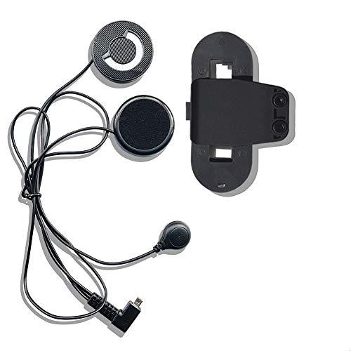 FreedConn Auriculares Para Casco Moto Intercom Talkie accesorio...